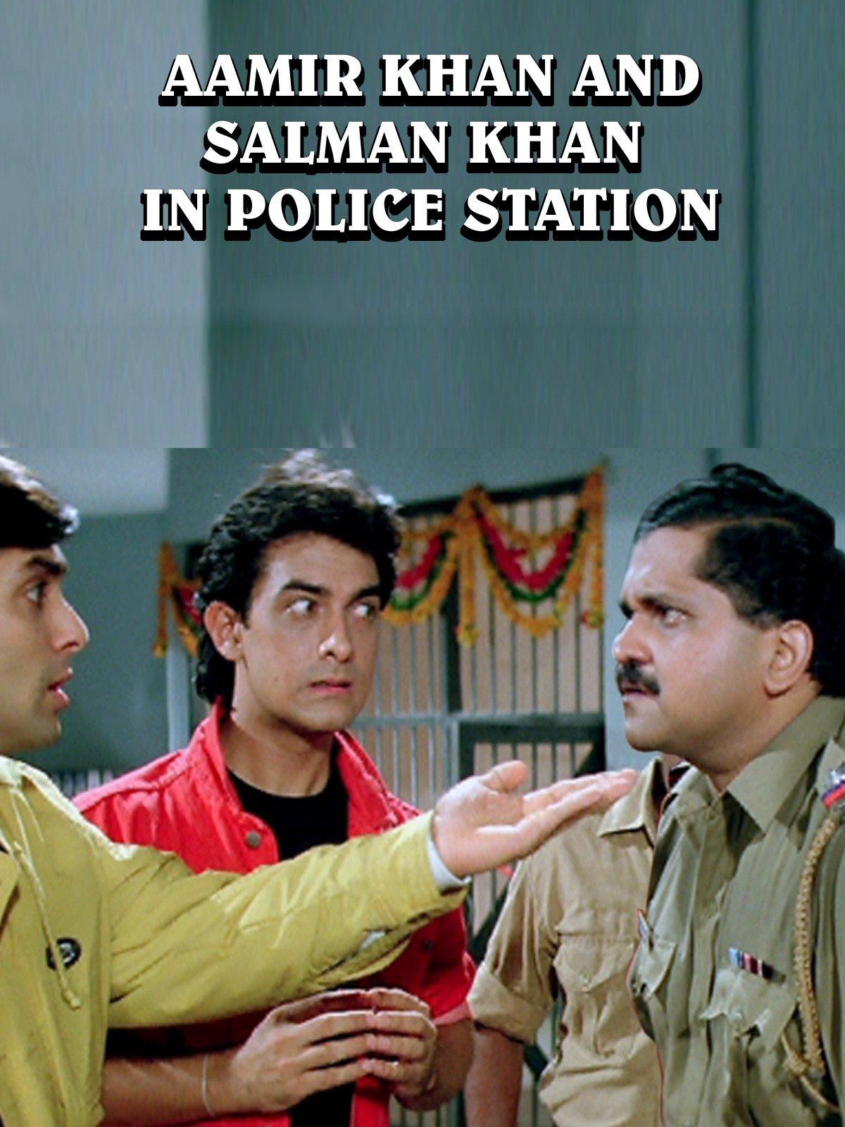 Clip: Aamir Khan & Salmaan Khan in Police Station