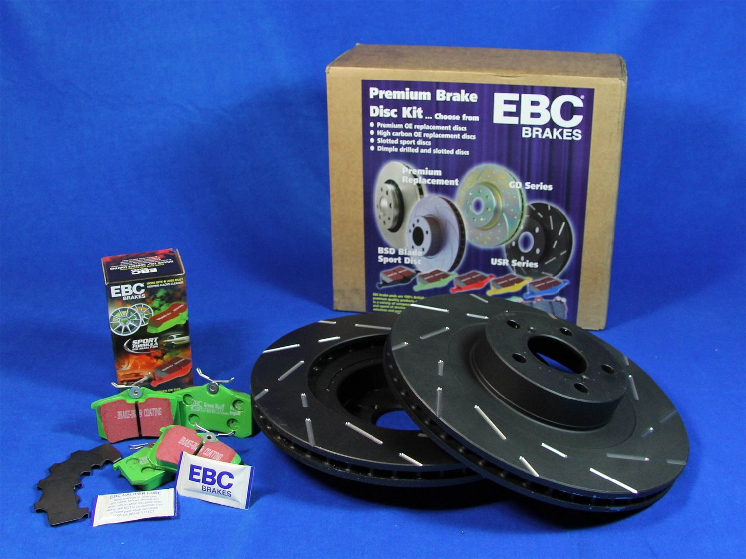EBC S2KF1258 Stage-2 Sport Brake Kit