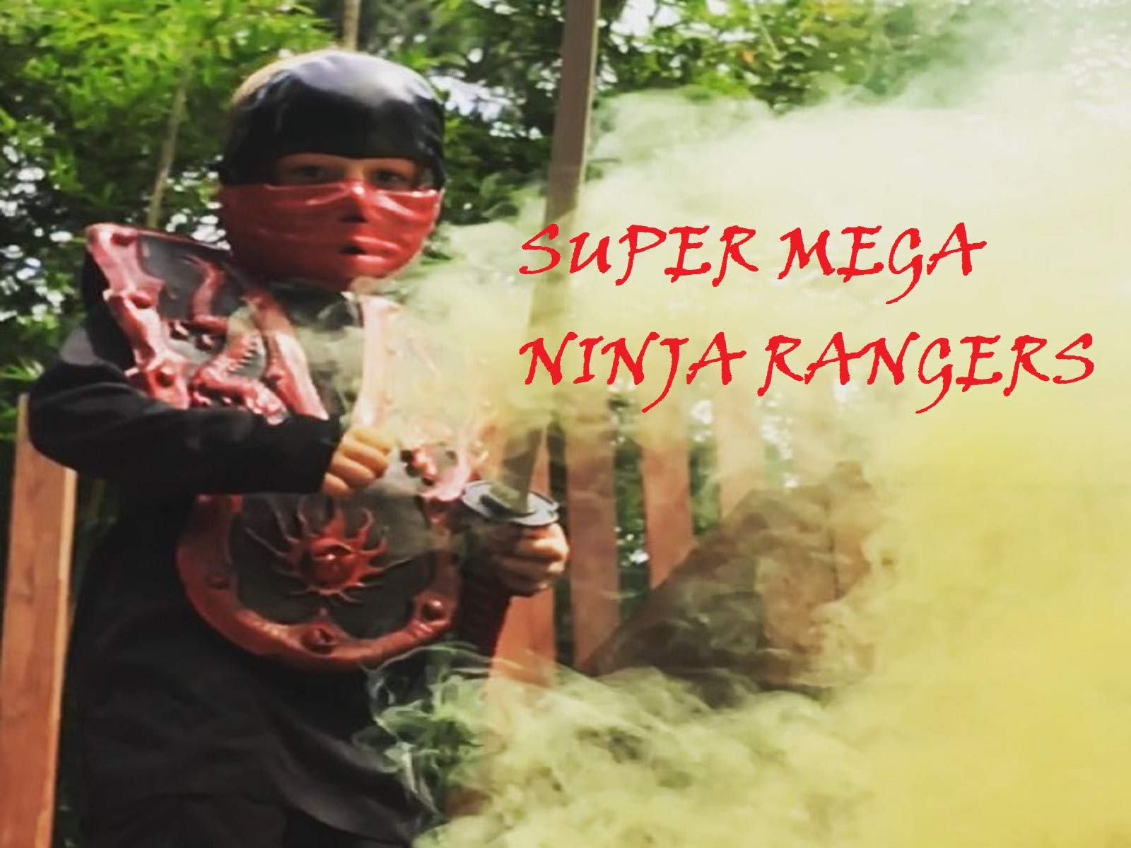 Clip: Super Mega Ninja Rangers on Amazon Prime Instant Video UK