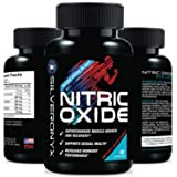 Extra Strength Nitric Oxide Supplement L Arginine 1300mg - Citrulline Malate, AAKG, Beta Alanine - Premium Muscle Building No Booster for Strength, Vascularity & Energy to Train Harder - 60 Capsules (Tamaño: 60 Capsules)