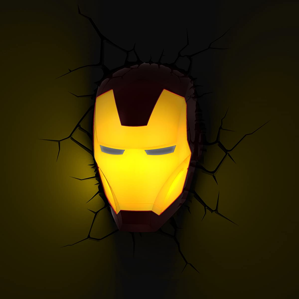 3D Light FX Marvel Mini 3D Deco Wall LED Night Light with Crack Wall ...