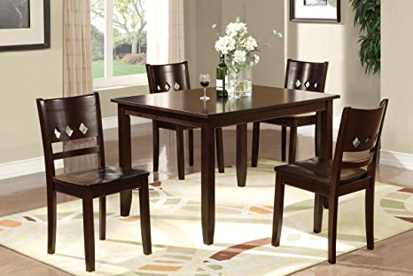 "DINING SET-5PCS 48""x36""x30""H"