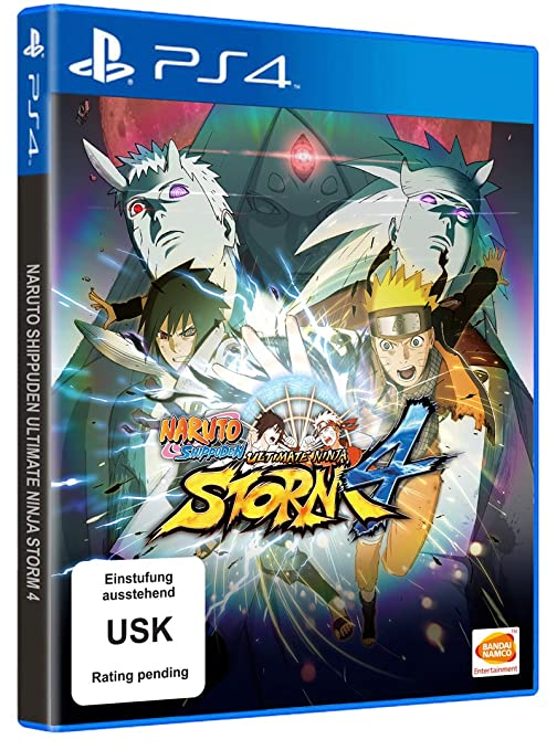 Naruto Shippuden: Ultimate Ninja Storm 4, PS4