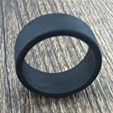 Tank Bands 21mm Silicone Tank Band Ring Bumper 21 COLORS AVAILABLE (6-PACK (Black))