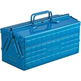 Trusco ST-350-B 2-Level Toolbox (Color: Blue)