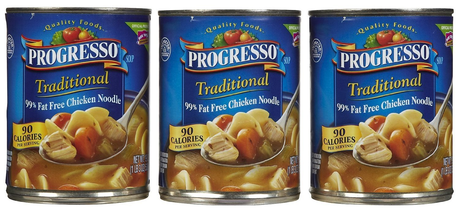 Progresso Traditional Soup - Chicken Noodle, 99% Fat Free - 19 oz lil links 6 oz chicken