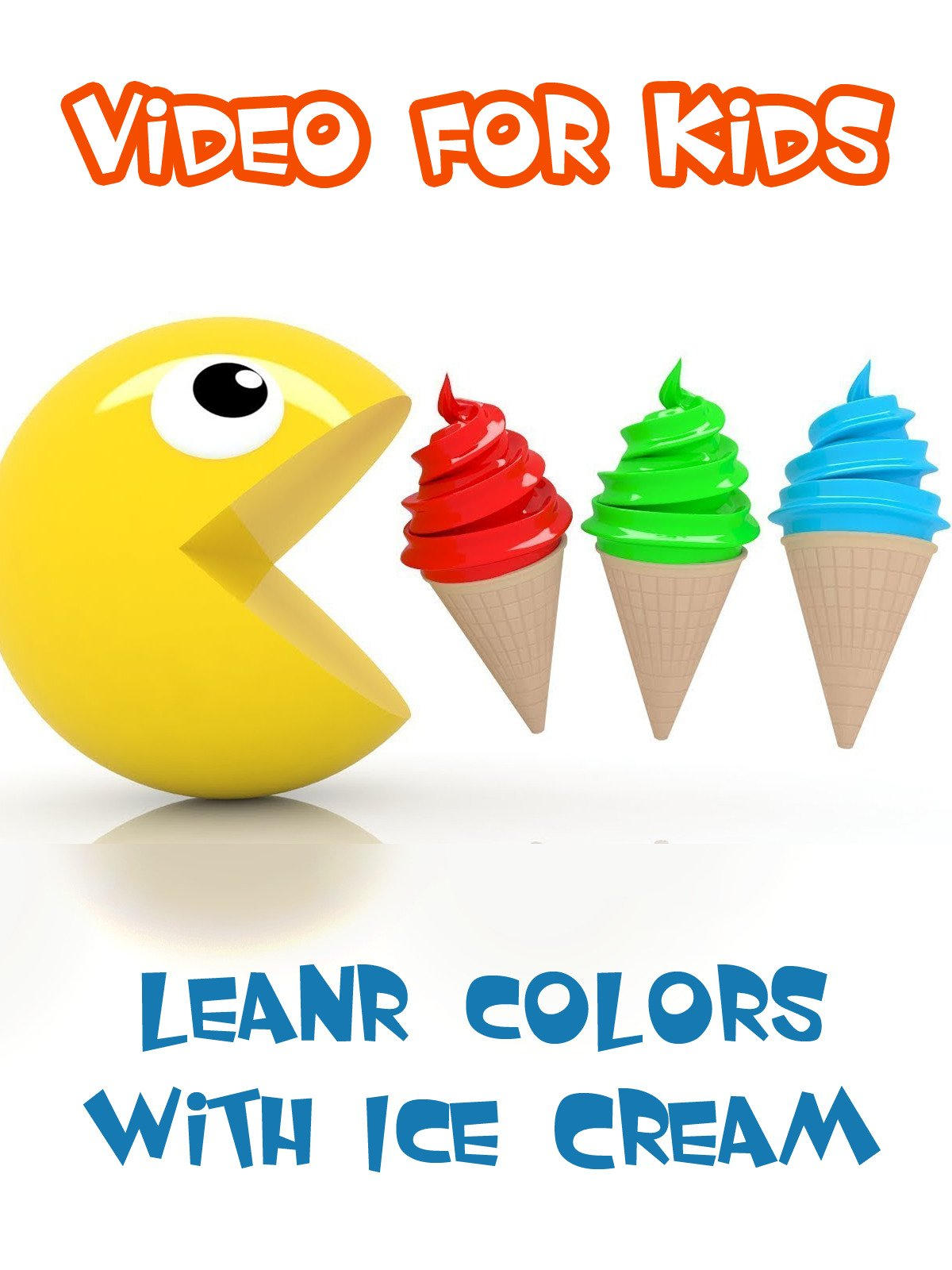 Learning Colors with Ice Cream