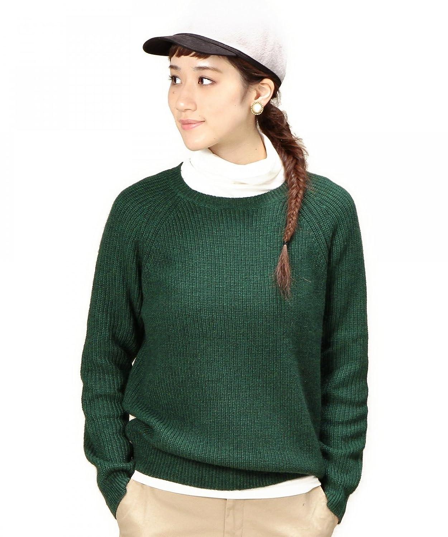 Amazon.co.jp: (ビューティーアンドユースユナイテッドアローズ) BEAUTY&YOUTH UNITED ARROWS BYBC ミックスカラー畦ニットプルオーバー 16136992461 69 DK.Grn フリー: 服&ファッション小物通販