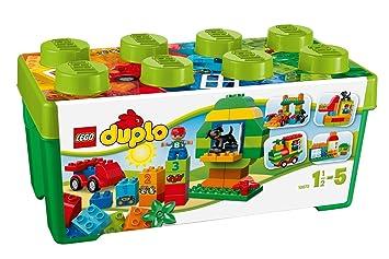 LEGO - 10572 - DUPLO - Jeu de Construction - Grande Boîte du Jardin en Fleurs