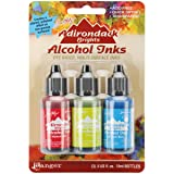 Ranger TAK-B-25962  Adirondack Brights Alcohol Ink 1/2-Ounce 3/Pkg, Dockside Picnic