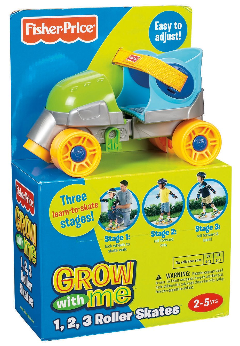 Grow-with-Me 1,2,3 Roller Skates | Like Want Have