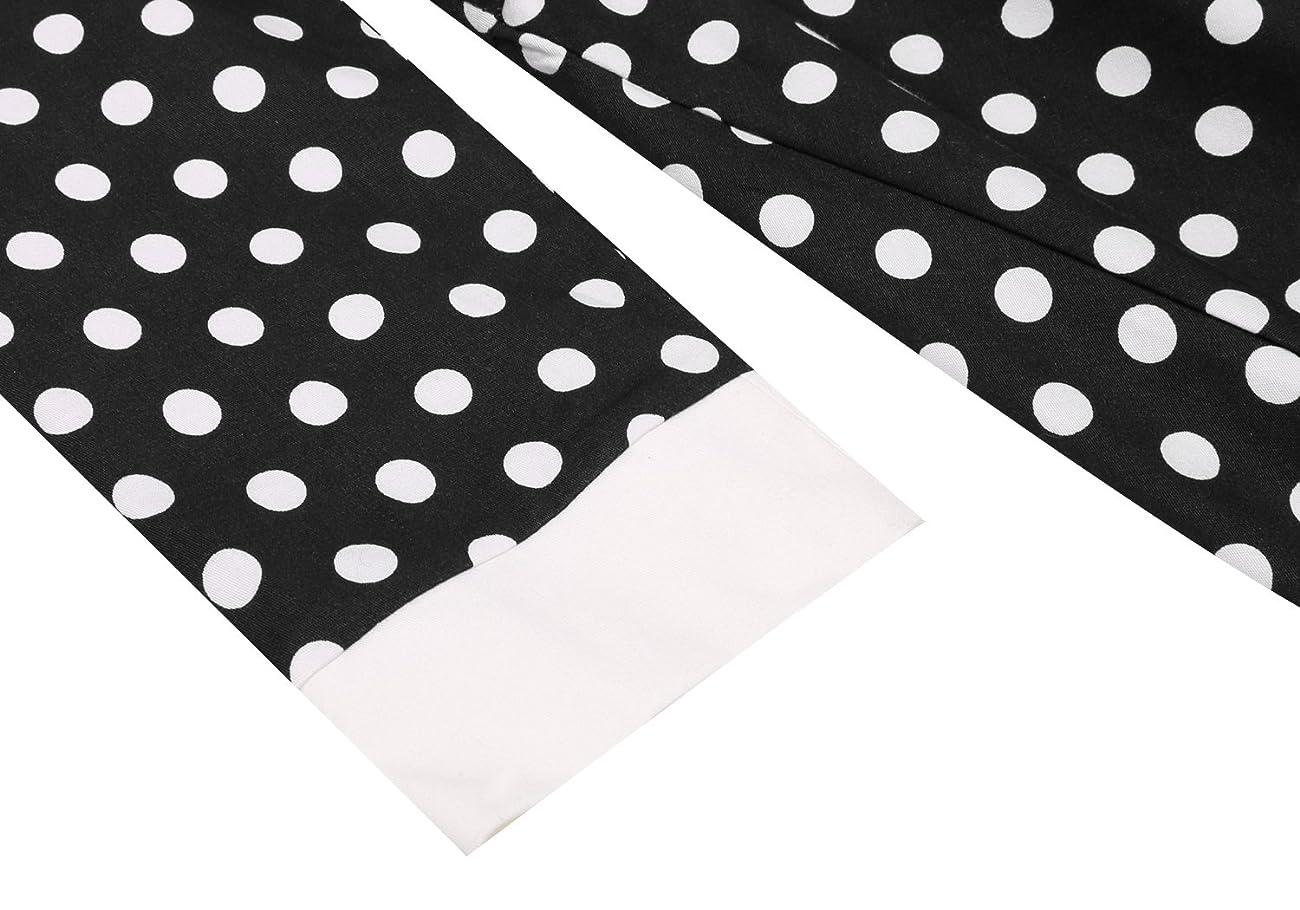 ACEVOG Women's Vintage 50s Elegant Polka Dot Formal Casual Party Dress 4