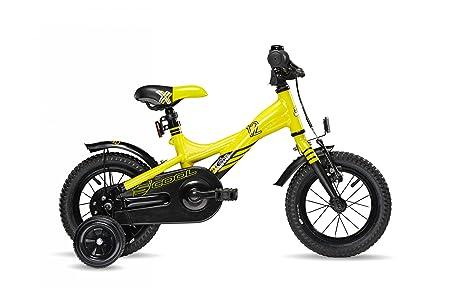 s'cool XXlite 12 - Vélo enfant - jaune/noir 2016 velo enfant 12 pouces