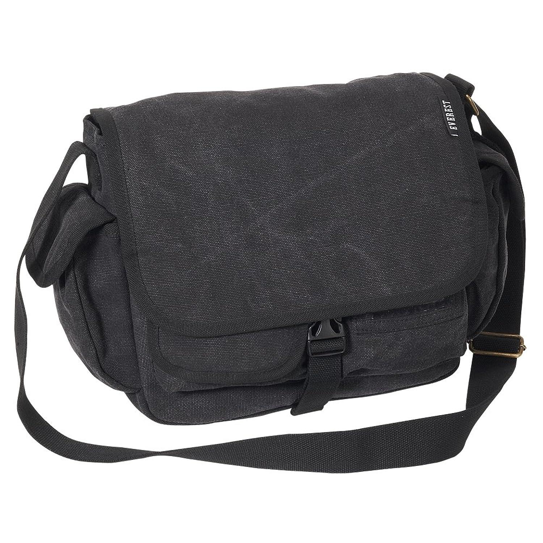 Urban Explorer Black Canvas Shoulder Bag 80
