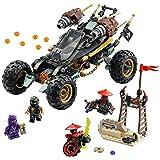 LEGO NINJAGO Rock Roader 70589 Fun Toy (Color: White, Tamaño: One Size)
