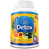 Body Detox Cleanse Pills With Acai Berry and Psyllium Husk For Women And Men. Metabolism Boost & Weight Loss. Natural and Organic Dietary Supplement For Digestive Detox. 100% Money Back Guarantee! (Color: White, Tamaño: 60 capsules)
