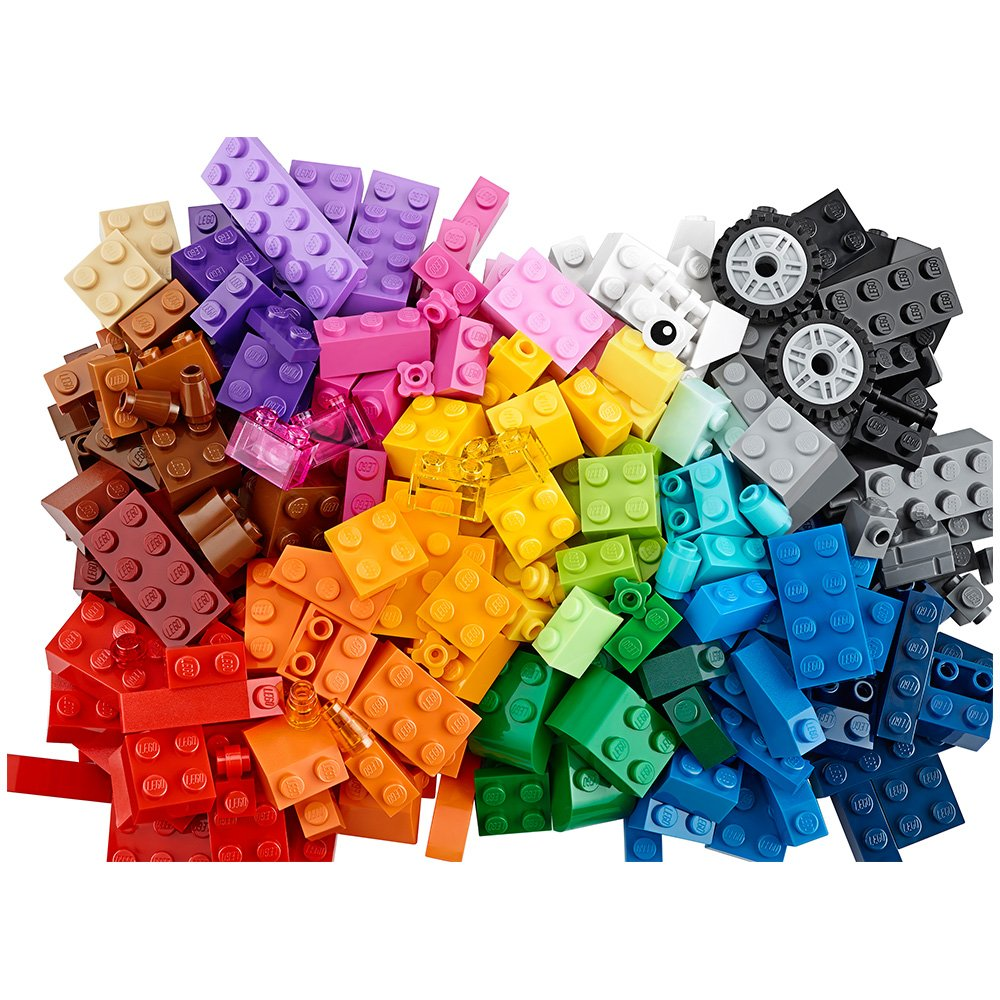 Lego 10695 classic idea special parts set 580 pieces abs for Modele maison lego classic