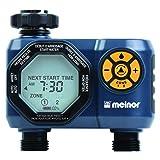 Melnor 15439-HDC Digital 2-Zone Water Timer, 2 Zone, 2 Zone (Color: 2 Zone, Tamaño: 2 Zone)