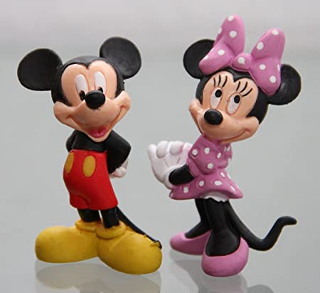 Bullyland Set Figurine Mickey + Minnie 6,5 cm