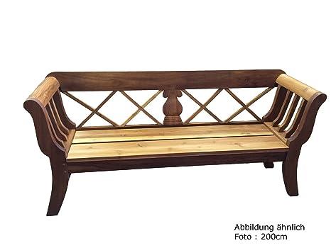 """'Banc de jardin en teck XXL, bois de teck """"Biedermeier 170massive Grande Qualité 170cm x 58cm x 93cm A Bois de Marchandises qualité"""