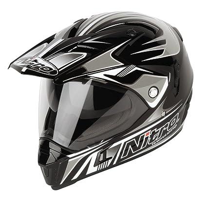 NITRO 187143XL10 Casque Moto MX650 Ion Dvs Noir