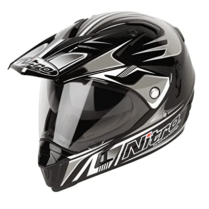 NITRO 187143M10 Casque Moto MX650 Ion Dvs Noir