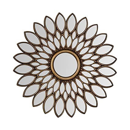 Protege Homeware Bronze Lyra Wall Mirror