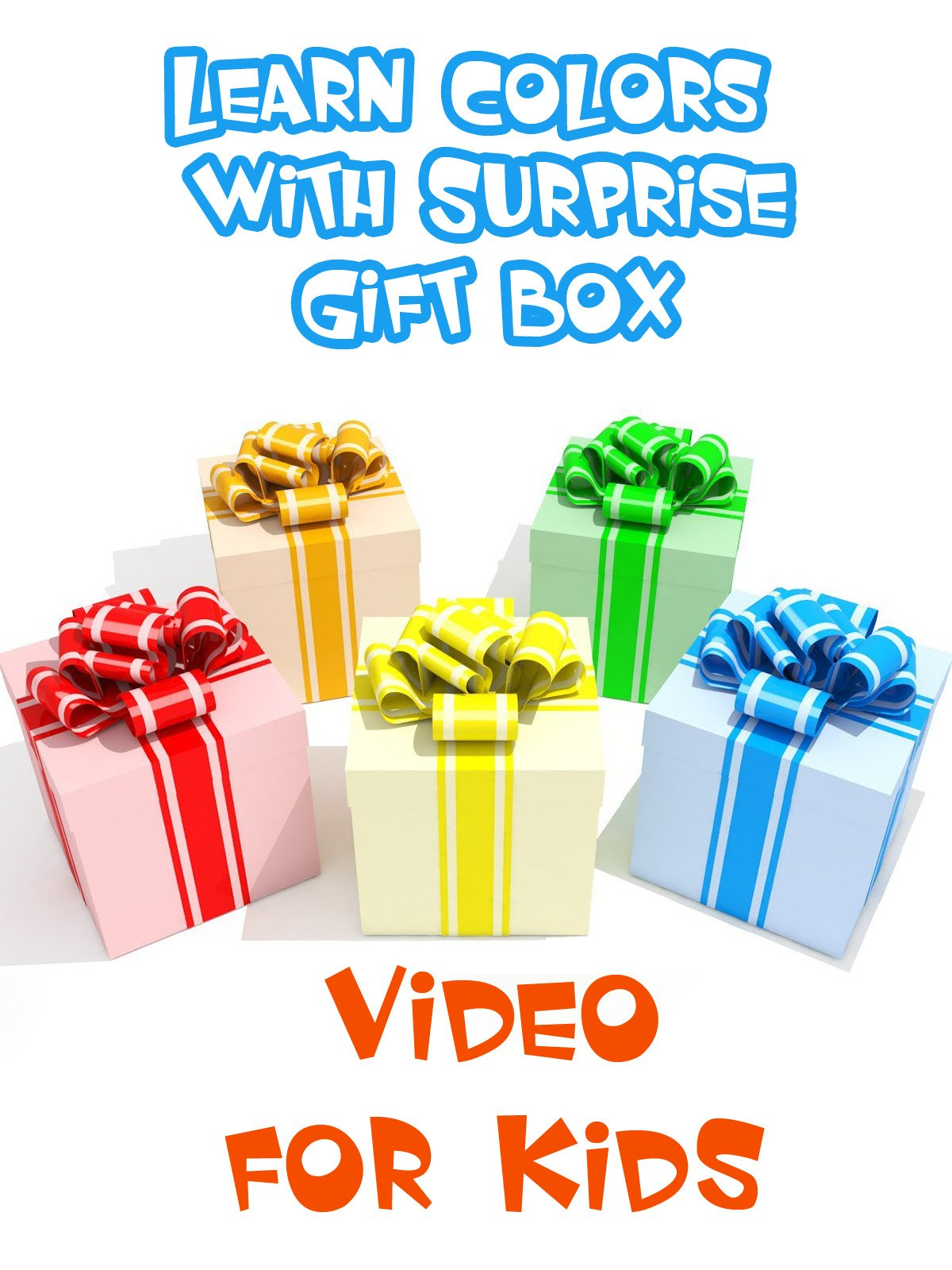 Learn Colors with Surprise Gift Box