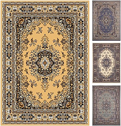 Home Dynamix Premium 7069-101 Sand 3-Feet 7-Inch by 5-Feet 2-Inch Traditional Area Rug