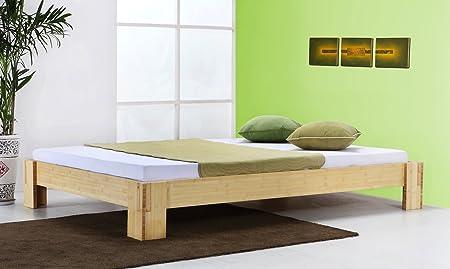 Bambusbett `Sumatra` natur - 30cm hoch - in vielen Größen / Möbel und Kolonialstilmöbel/ Variante: Größe: 120x220cm