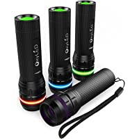 4-Pk. OxyLED OxyWild MD02 Zoomable Mini LED Flashlight