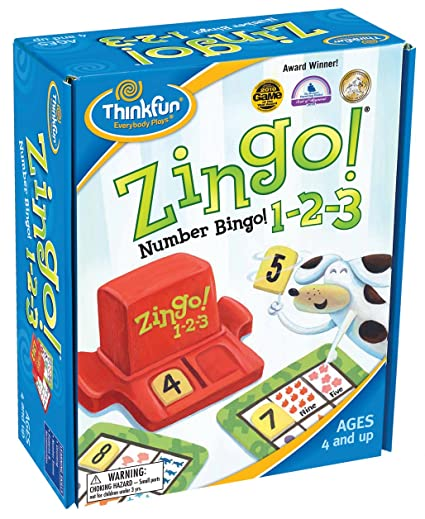 Think Fun Zingo. 1–2-3 Jeu