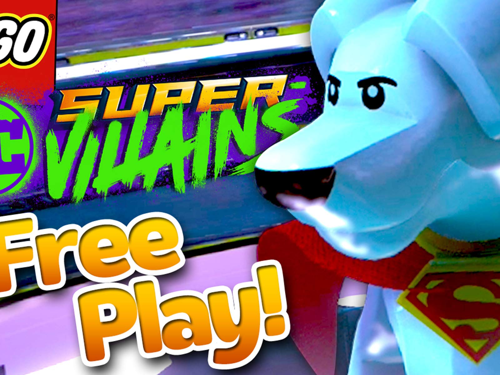 Clip: Lego D.C. Super Villains Gameplay - Zebra Gamer - Season 2