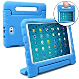 COOPER DYNAMO Kids case compatible with Galaxy Tab A 10.1 with S-Pen   Shock Proof Heavy Duty Kidproof Cover for Kids   Girls Boys School   Handle Stand, Screen Protector   Samsung SM-P580 P585 (Blue) (Color: Blue, Tamaño: Samsung Galaxy Tab A 10.1 (S Pen))
