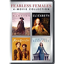 Fearless Females4-Movie Collection (Harriet / Elizabeth / Mary Queen of Scots / On the Basis of Sex)