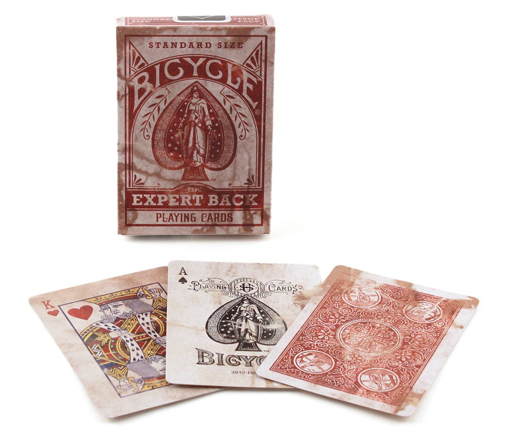 Bicycle Distressed Expert Back Playing Cards 0