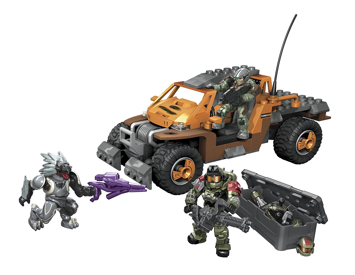 lokal mega bloks 96981 halo unsc spade vs skirmisher. Black Bedroom Furniture Sets. Home Design Ideas