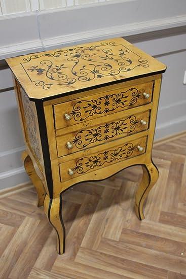 gabinete inodoro barroca Louis XV AaKm0105 estilo antiguo