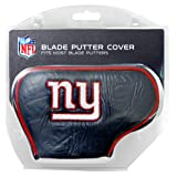 Team Golf NFL New York Giants Golf Club Blade Putter Headcover, Fits Most Blade Putters, Scotty Cameron, Taylormade, Odyssey, Titleist, Ping, Callaway