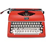 Royal Classic Manual Typewriter (Color: Red)