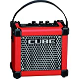 Roland MICRO CUBE GX Red Bundle | Battery Powered Guitar Amp with CB-MCC1 Cover RED