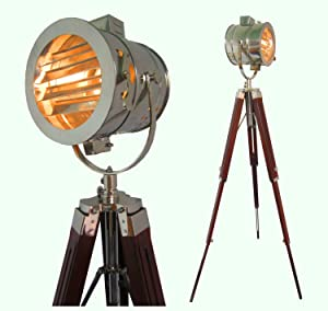 Floor Lamp home Decorative Vintage Design Tripod  Searchlight Spot light       Customer reviews