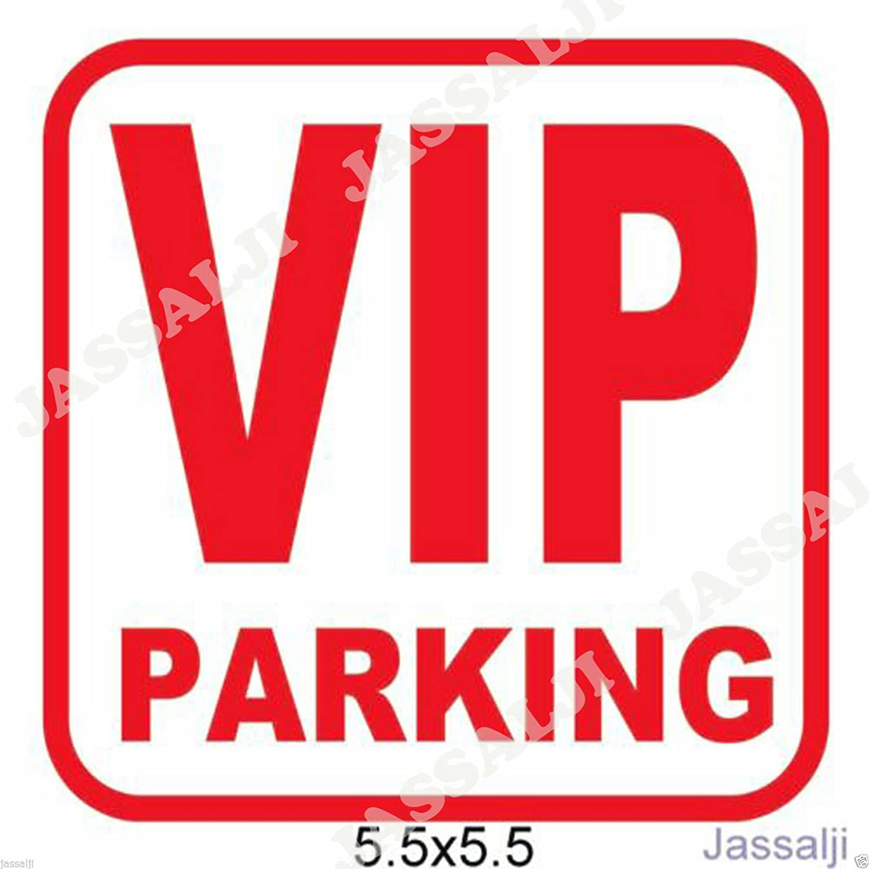 Car parking stickers design india - Vip Parking Car Sticker Decal Big Size