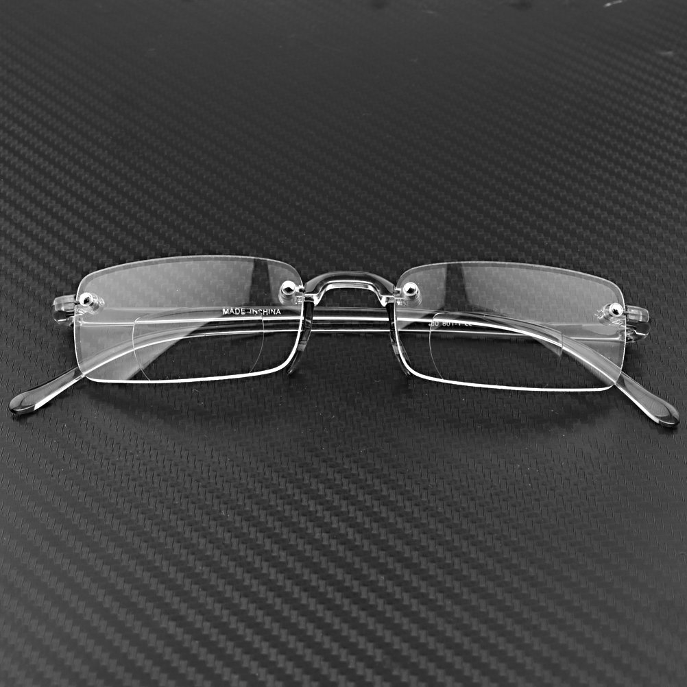 Rimless Fashion Glasses Clear Pair Fashion Stylish