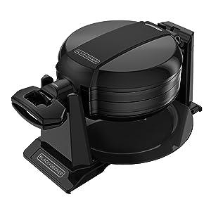 BLACK+DECKER Double Flip Waffle Maker
