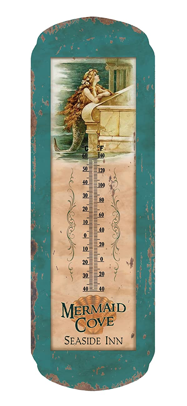 Ohio Wholesale Vintage Mermaid Thermometer, from our Water Collection 0