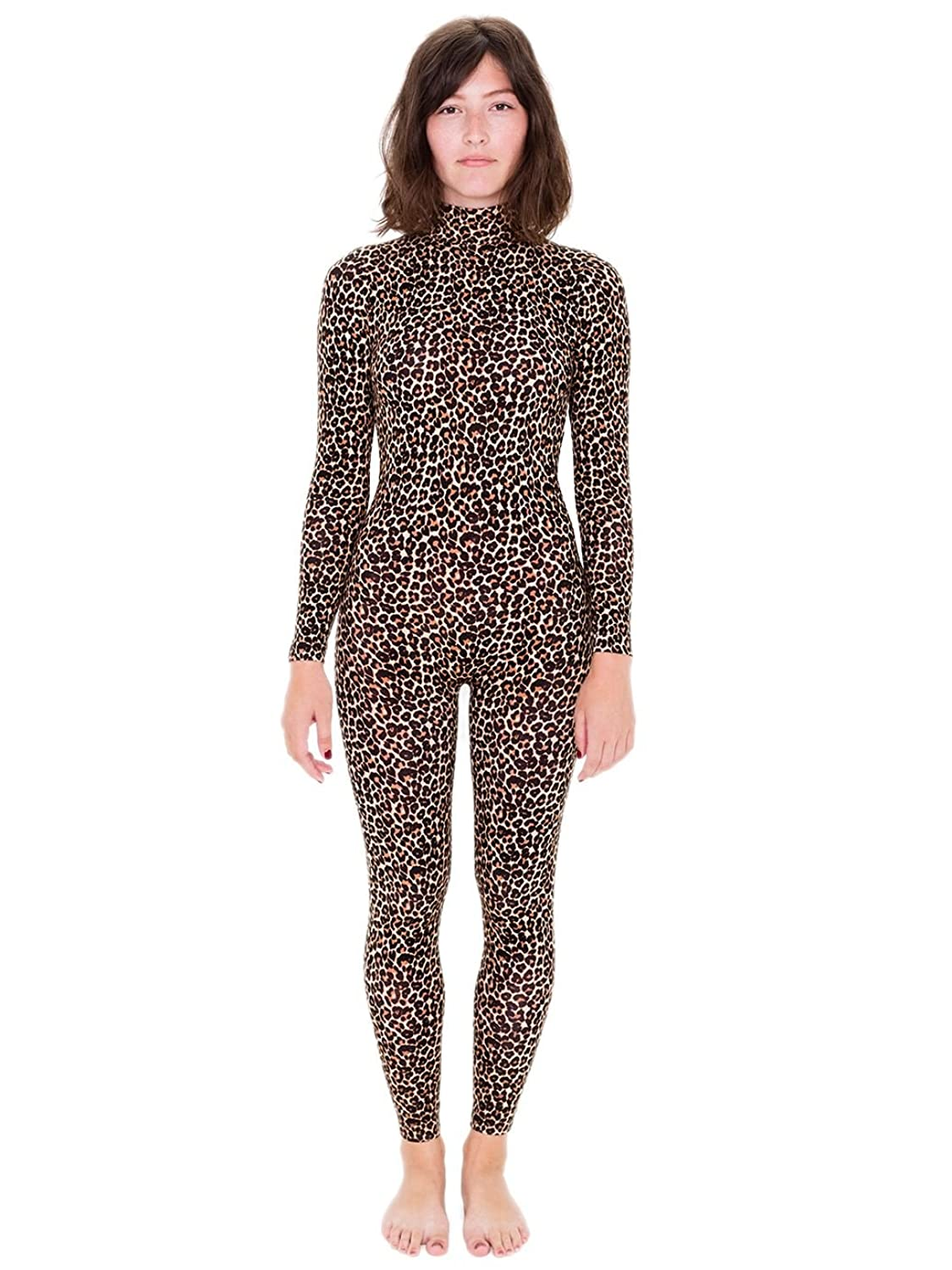 American Apparel Printed Turtleneck Catsuit