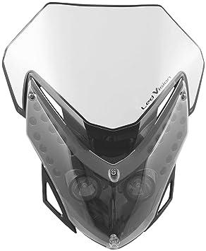COMPATIBILE CON KTM 950 ADVENTURE S COPPIA DI FRECCE A LED 12V CARBON LOOK OMOLOGATE PER MOTO LAMPA 90100 ATOM LUCE ARANCIO INDICATORE DI DIREZIONE