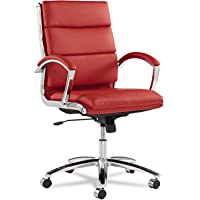 Alera Neratoli Mid-Back Swivel/Tilt Chair (Red)