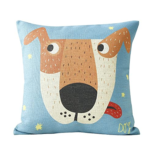 Decorative Dog Themed Pillows : Dog and Puppy Pillows - TKTB